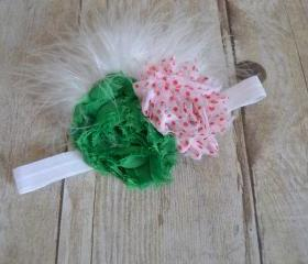 Shabby Chic Feather Headband